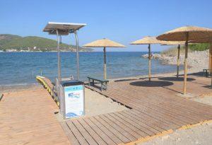 Πόρος: Δυο υποδομές πρόσβασης ΑμΕΑ στην θάλασσα