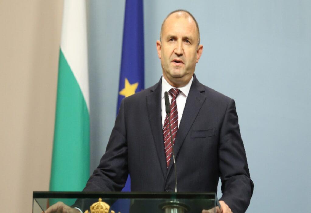 Την παραίτηση Μπορίσοφ ζητά ο πρόεδρος της Βουλγαρίας