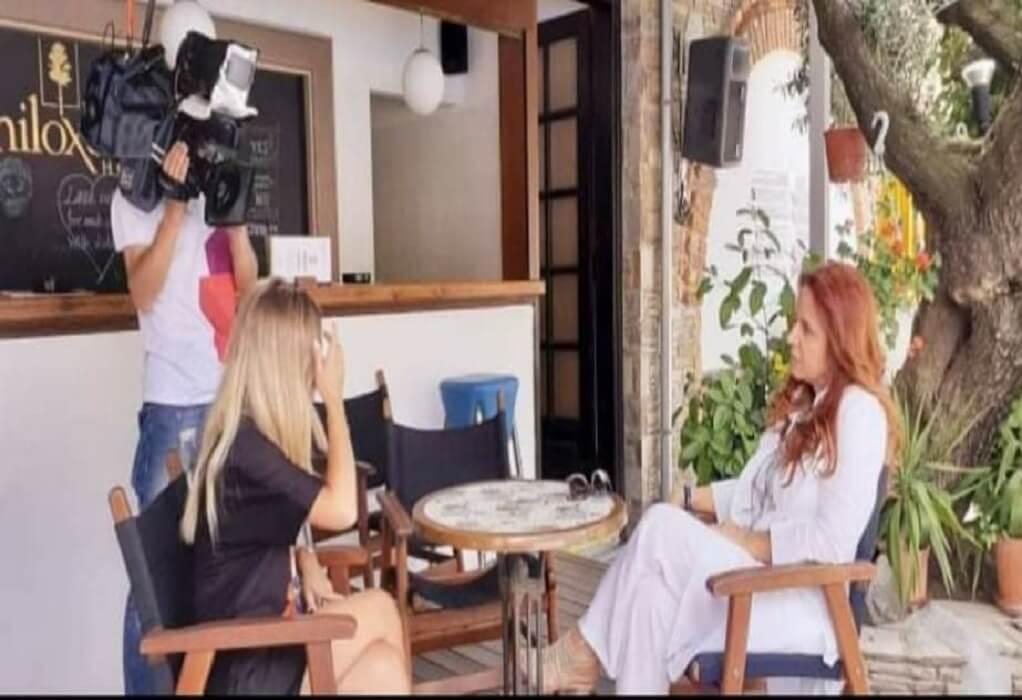 Στη Ρουμανία τηλεοπτικά… ταξίδεψε η Σιθωνία