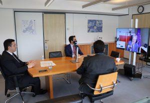 Τζιτζικώστας: Σύσκεψη με τον Επίτροπο Οικονομίας της ΕΕ Paolo Gentiloni