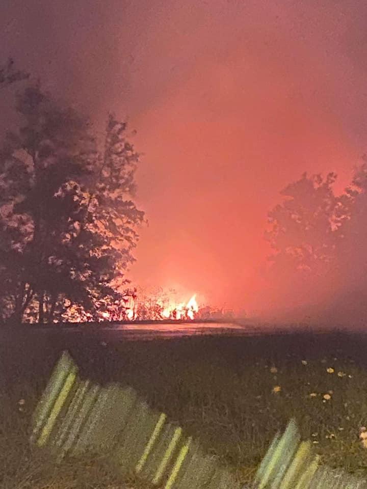 ΒΙΠΕ Σίνδου: Πυρκαγιά σε ξερά χόρτα (ΦΩΤΟ-VIDEO)