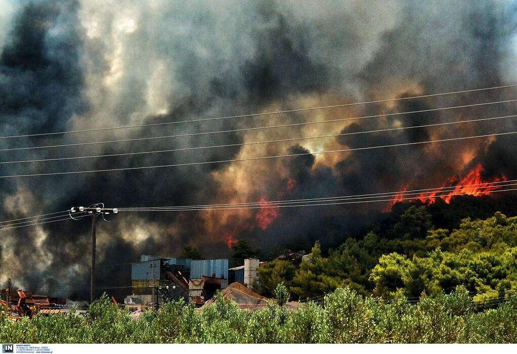 Πολύ υψηλός κίνδυνος πυρκαγιάς και για αύριο