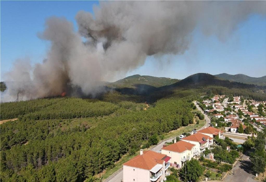 Κοντά σε σπίτια η φωτιά στις Σάπες – Εκκένωση οικισμού (ΒΙΝΤΕΟ-ΦΩΤΟ)