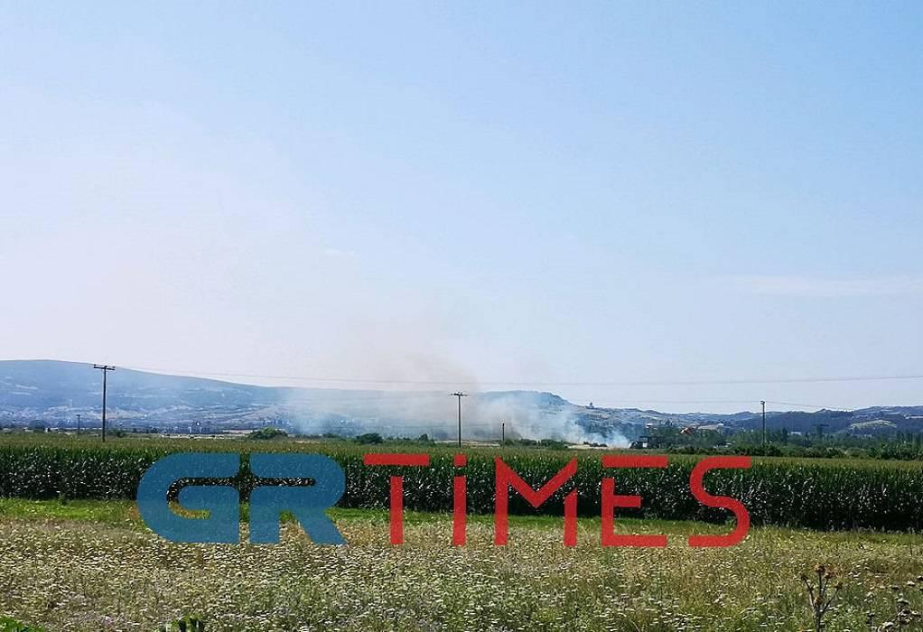 Φωτιά πίσω από τη Waterland (ΦΩΤΟ-ΒΙΝΤΕΟ)