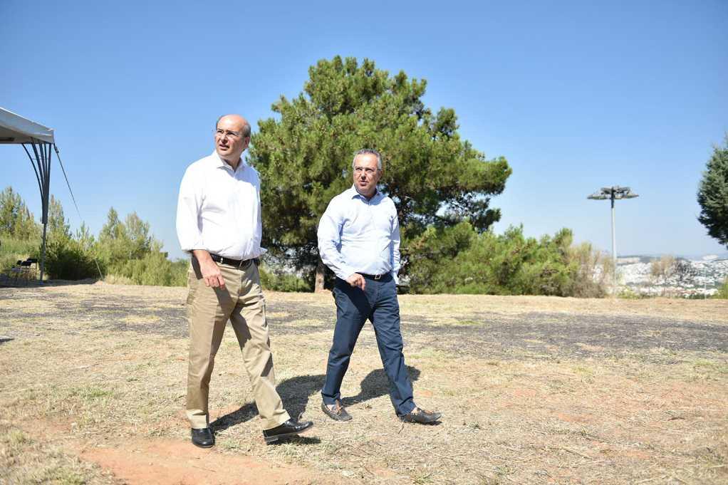 Χατζηδάκης: Προστατεύουμε τον Υμηττό με έργα