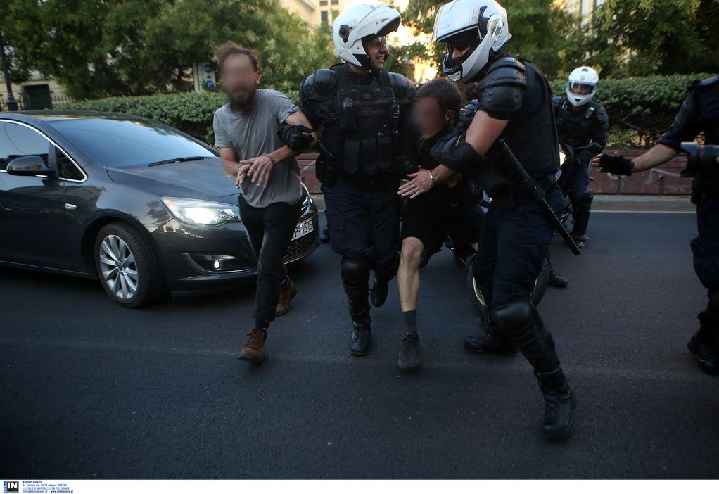 Επεισόδια στην ΑΣΟΕΕ: Τρεις συλλήψεις