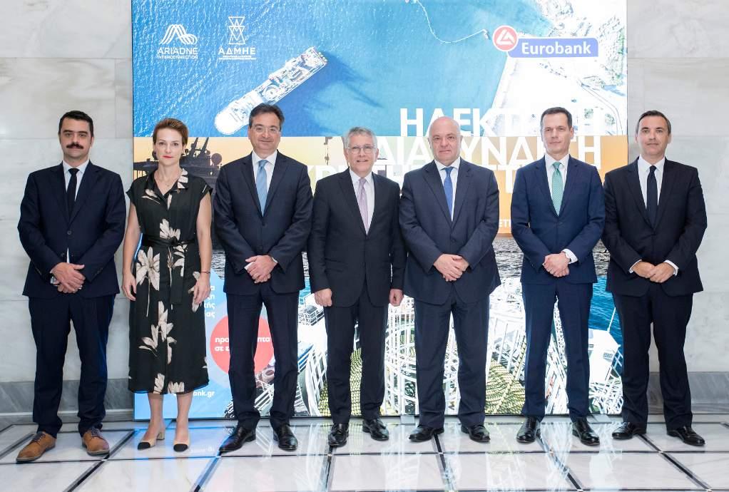 Εurobank: 400 εκ. για την ηλεκτρική διασύνδεση Κρήτης- Αττικής