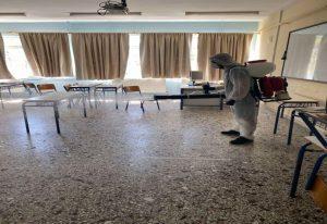Κορωνοϊός: Απολυμάνσεις στα σχολεία του δ. Δέλτα (ΦΩΤΟ)