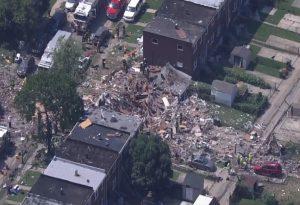 Μεγάλη έκρηξη στη Βαλτιμόρη με τουλάχιστον 1 νεκρό