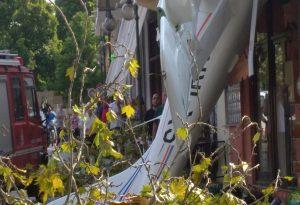 Η στιγμή της πτώσης του μονοκινητήριου αεροσκάφους (ΒΙΝΤΕΟ)