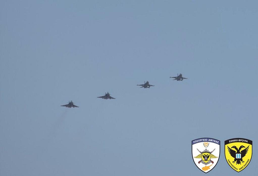 Νέες αερομαχίες ελληνικών και τουρκικών F-16 μεταξύ Ρόδου-Καστελόριζου