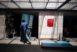 Βηρυτός: Σε έξαρση τα κρούσματα κορωνοϊού – Γέμισαν τα νοσοκομεία