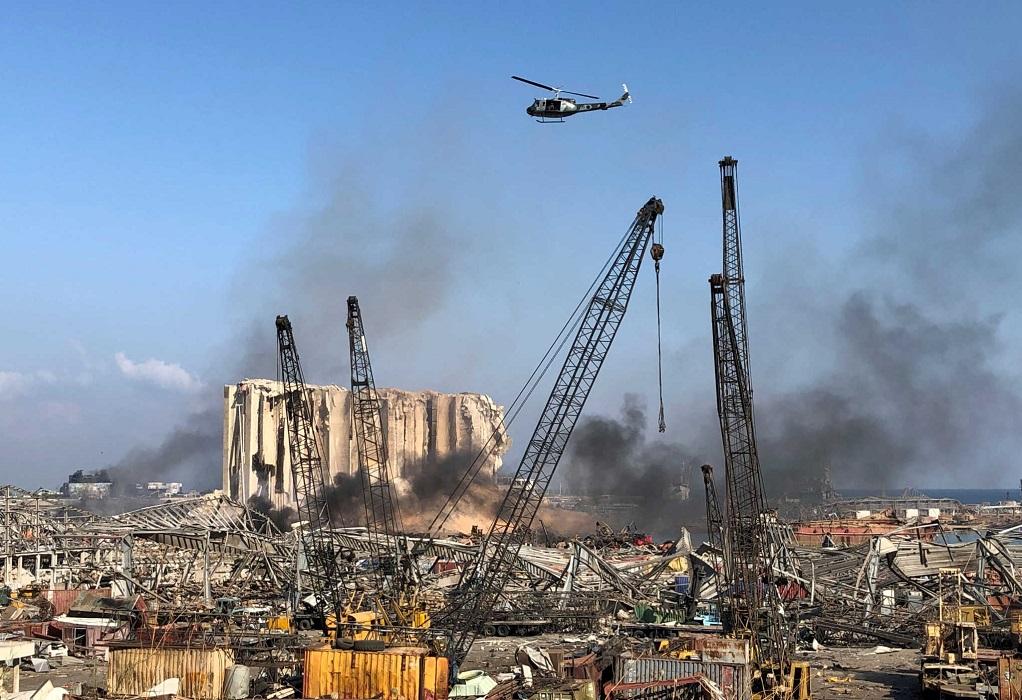 Βηρυτός: Ασύλληπτη τραγωδία- Ξεθάβουν νεκρούς από τα συντρίμμια (ΦΩΤΟ-VIDEO)