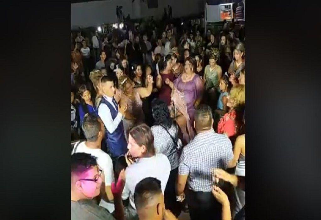 Χαμός σε γάμο στην Αλεξανδρούπολη – Επέμβαση της ΕΛΑΣ (VIDEO)