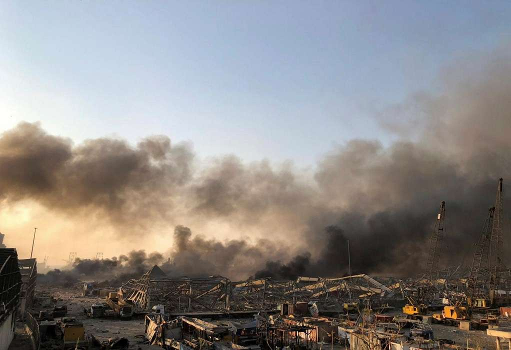 Κυβερνήτης Βηρυτού: «Ήταν σαν την Χιροσίμα»