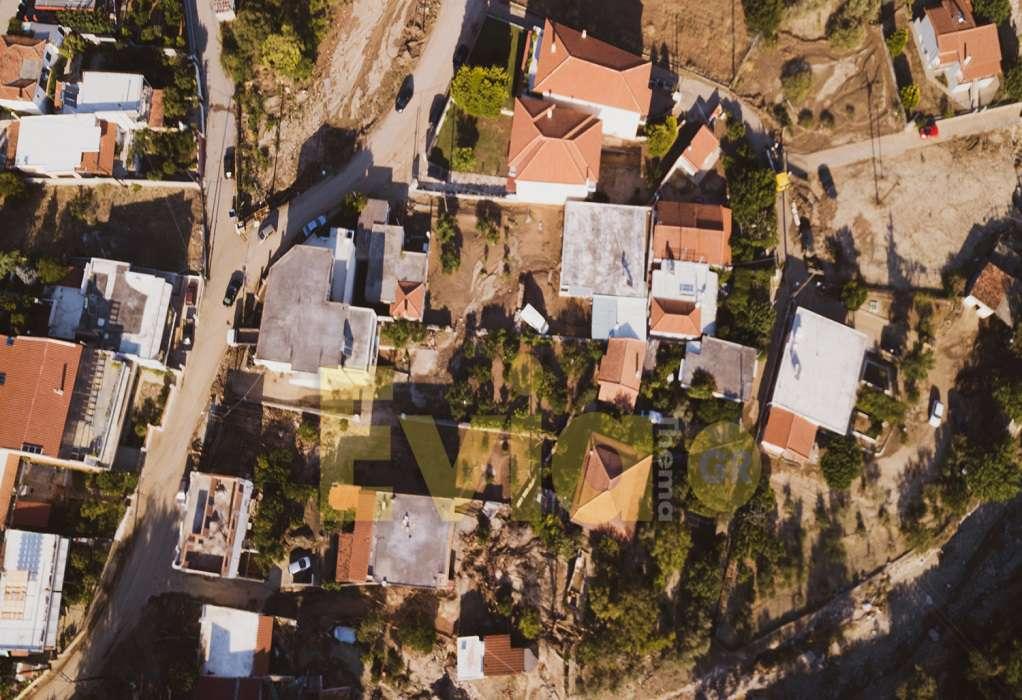 Εύβοια: Drone καταγράφει τις «πληγές» που άφησε η θεομηνία