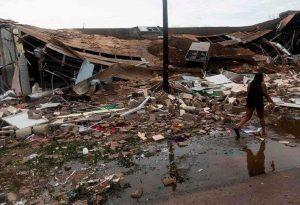 Σε κυκλώνα εξελίσσεται η καταιγίδα Σάλι