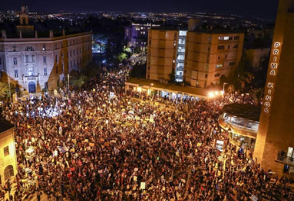 Ισραήλ: Διαδηλώσεις κατά Νετανιάχου σε όλη τη χώρα