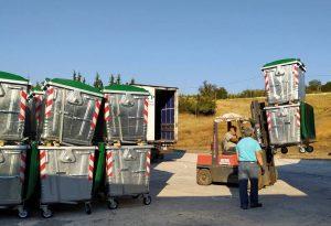 250 νέοι μεταλλικοί κάδοι στον δήμο Θέρμης