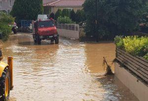 Απίστευτη η ποσότητα βροχής στην Εύβοια – Τι κατέγραψαν οι σταθμοί