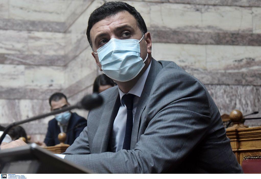 Κικίλιας: Κανένας επιστήμονας δεν συστήνει τη μη χρήση μάσκας