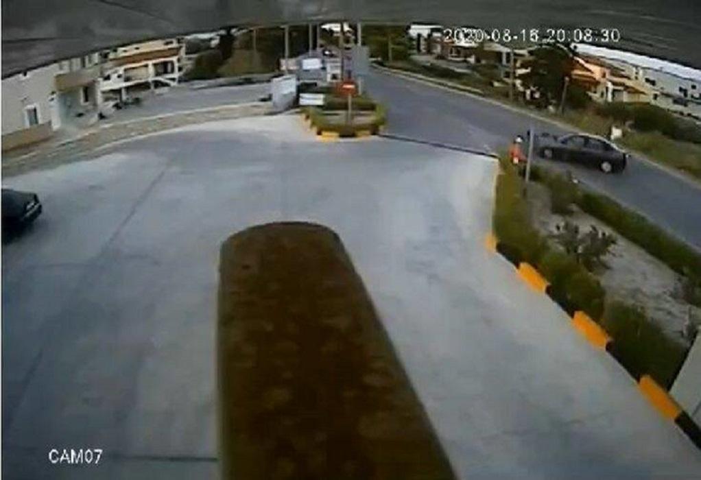 Σοκάρει τροχαίο στην Κρήτη: Μοτοσικλετιστής εκσφενδονίστηκε στα 10 μέτρα (ΒΙΝΤΕΟ)