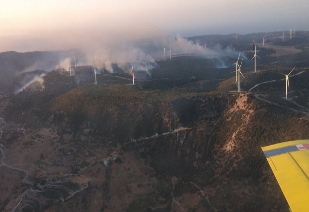 Κύπρος: Πυρκαγιά μήκους 20 χιλιομέτρων σε Λεμεσό και Πάφο
