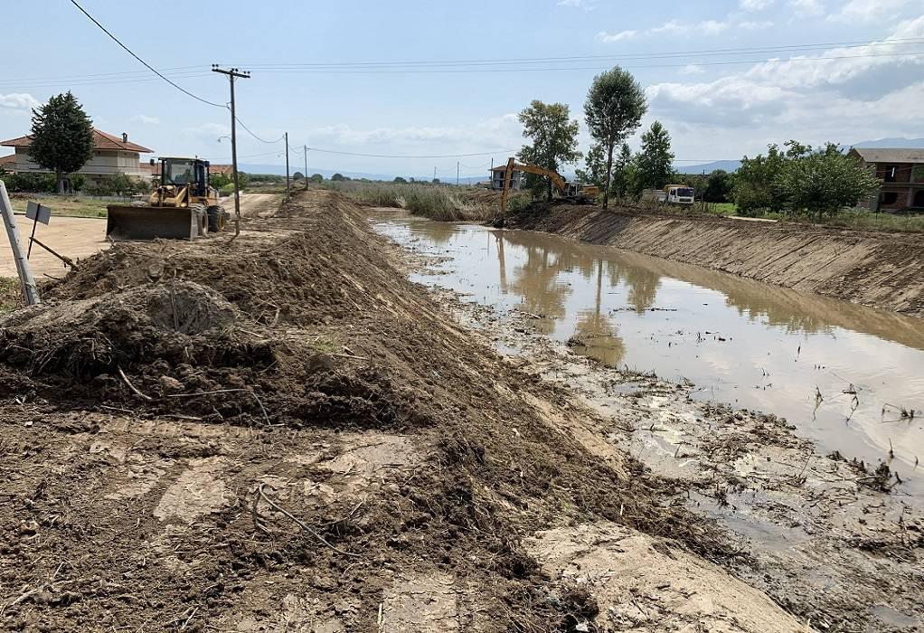 ΠΚΜ: Αγώνας δρόμου για τα αντιπλημμυρικά έργα