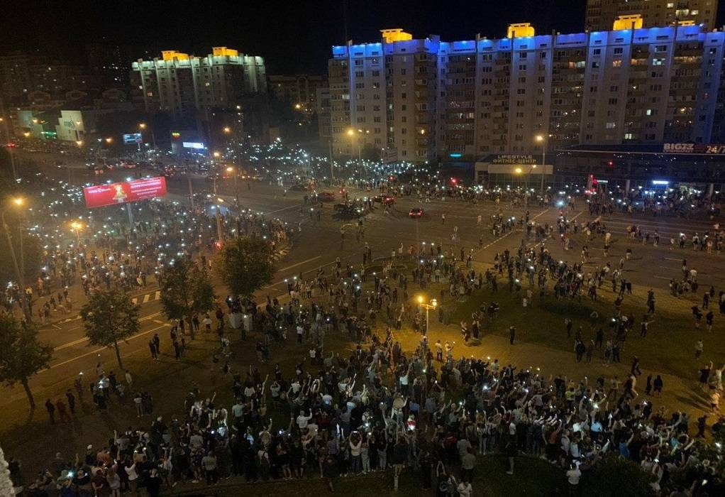 Λευκορωσία: Ένας νεκρός και δεκάδες τραυματίες