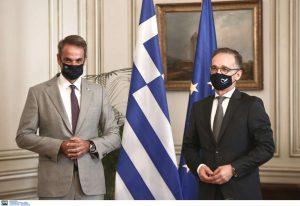 Μητσοτάκης – Μάας: Να αποκλιμακωθεί η τουρκική προκλητικότητα