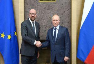 Επικοινωνία Σαρλ Μισέλ με Πούτιν – Τι συζήτησαν