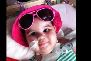 Η μικρή Μιχαέλα, δε ζητάει πολλά, μόνο μία θεραπεία