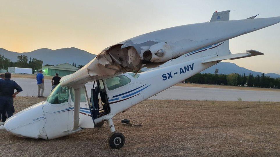 Τατόι: Κατέπεσε μονοκινητήριο αεροσκάφος