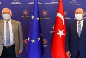 Μπορέλ σε Τσαβούσογλου: Ειρηνική λύση στη Μεσόγειο ή κυρώσεις