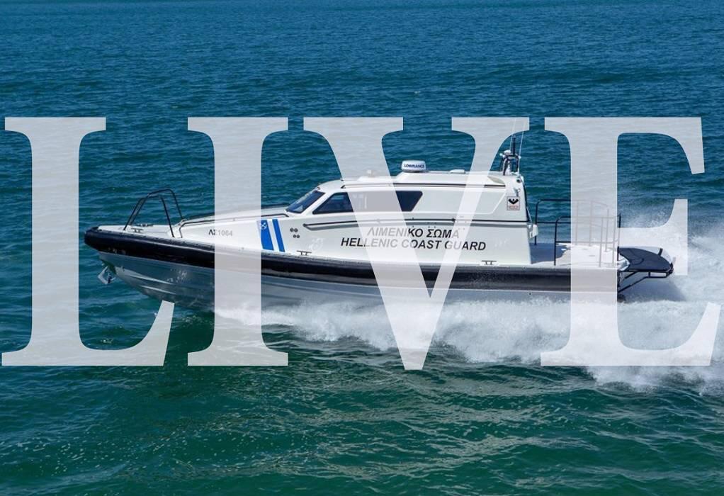 ΥΝΑΝΠ: Τελετή ένταξης περιπολικού σκάφους