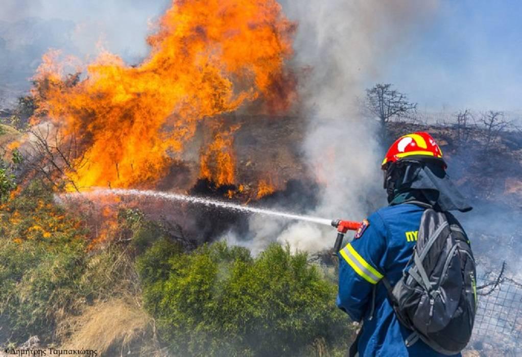 Πολύ υψηλός κίνδυνος πυρκαγιάς για αύριο Πέμπτη σε Αττική και Εύβοια