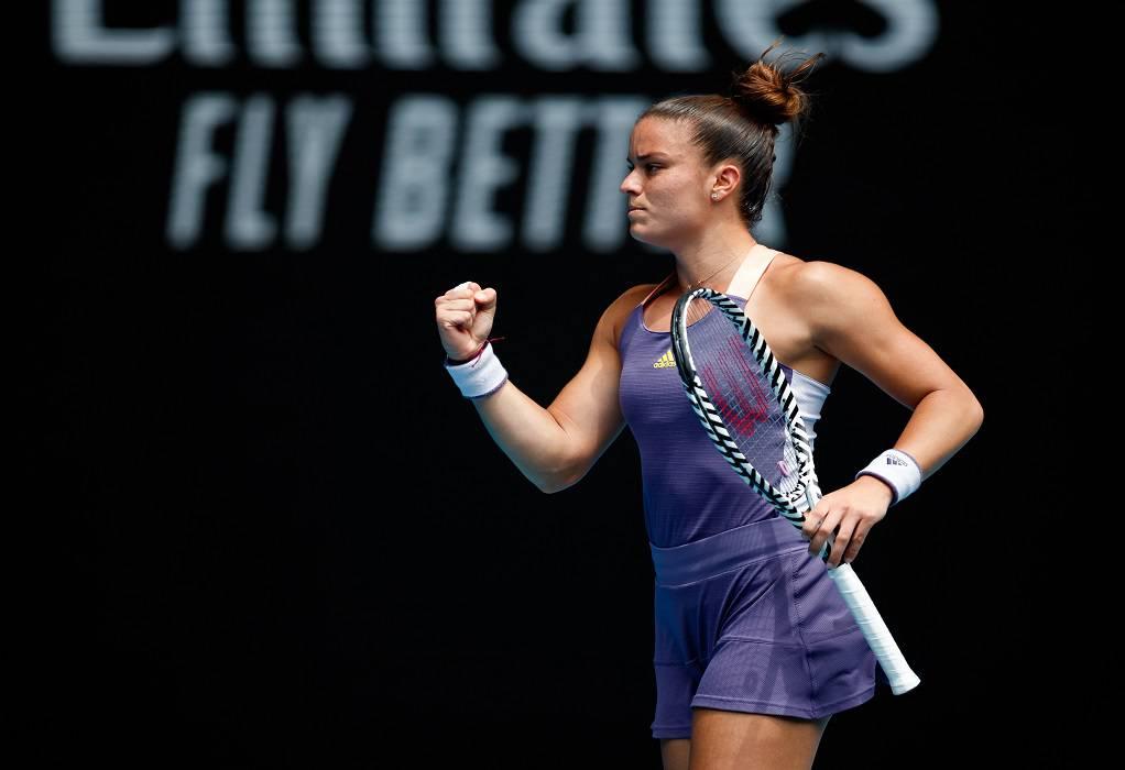 Η Μαρία Σάκκαρη πλησιάζει στο WTA Finals