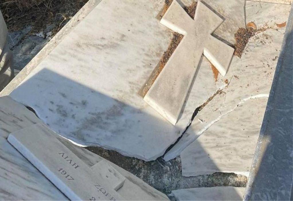 Βανδάλισαν τον τάφο της Λιλής Ζωγράφου (ΦΩΤΟ)