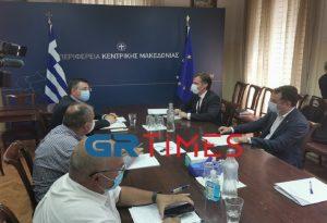 Κέντρο ελέγχου κορωνοϊού και στην Περιφέρεια Κεντρικής Μακεδονίας