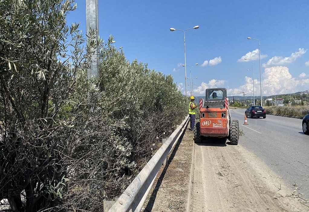 Θεσσαλονίκη: Μετ' εμποδίων… η κίνηση στην Περιφερειακή λόγω εργασιών (VIDEO)
