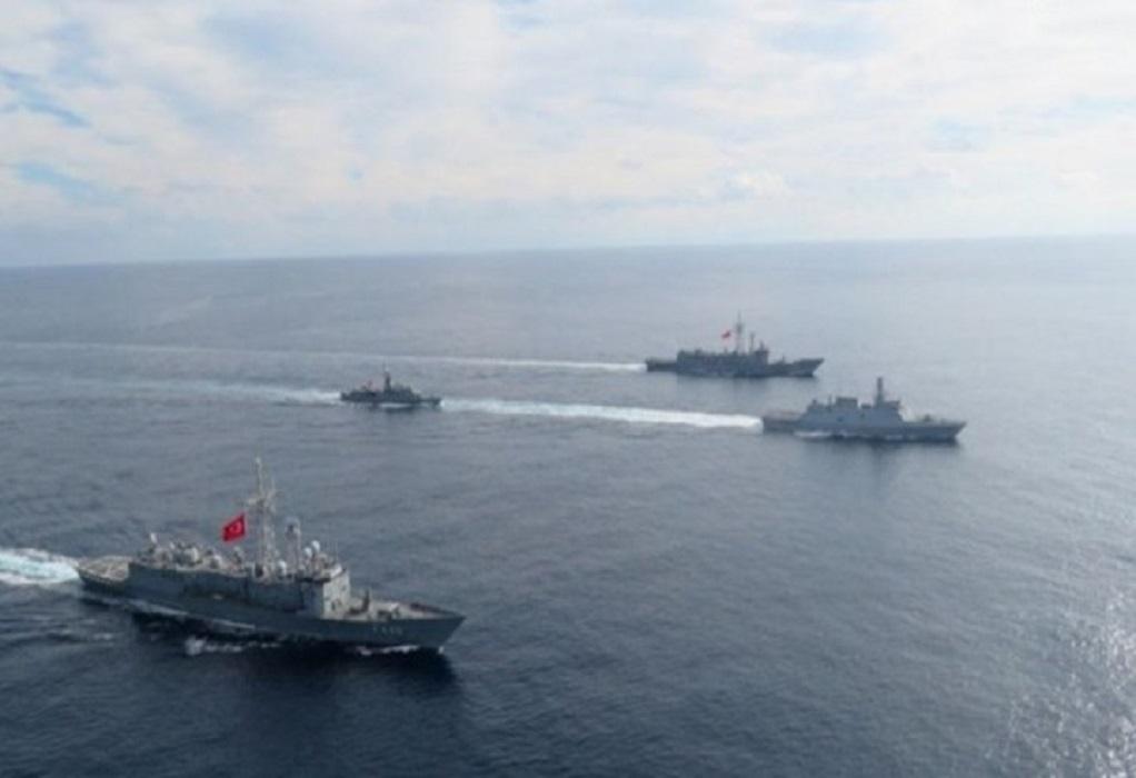 Συνεχίζονται οι εντάσεις στην Ανατολική Μεσόγειο