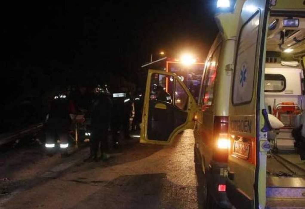 Δύο θανατηφόρα τροχαία το βράδυ στη Θεσσαλονίκη