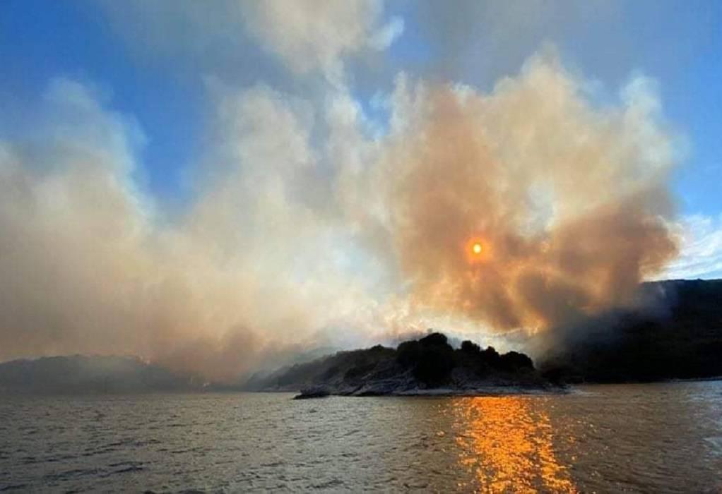 Ερημίτης Κέρκυρας: Έγιναν στάχτη πάνω από 200 στρέμματα δάσους