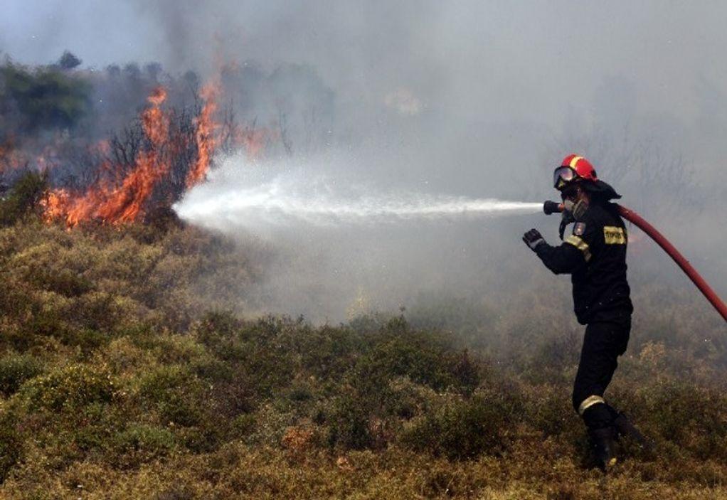 Πυρκαγιά στο Αρκαλοχώρι Ηρακλείου