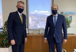 Χατζηδάκης:Σημαντική διεύρυνση της παρουσίας των ΗΠΑ στην Ελλάδα