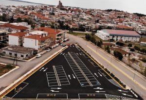 Χαλκιδική: Νέο πάρκινγκ στα Μουδανιά – Δείτε φωτογραφίες