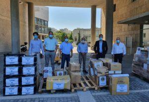 Δήμος Θεσσαλονίκης: Δύο τόνοι ανθρωπιστικής βοήθειας για τον Λίβανο