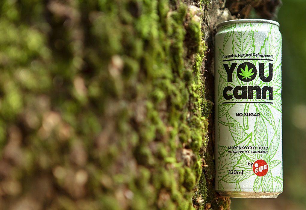 You Cann: Tο φυσικό ανθρακούχο ποτό με αφέψημα κάνναβης
