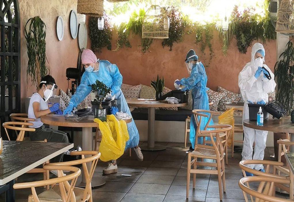 Κορωνοϊός – Βόλος: Θετικοί τέσσερις συνάδελφοι του 25χρονου σεφ