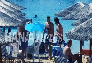 Στην Κρήτη ο Μητσοτάκης – Βουτιές με τη Μαρέβα (ΦΩΤΟ+VIDEO)
